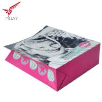 China Free sample OEM Custom Luxury Craft Paper Bag With Handle Manufacturer on sale