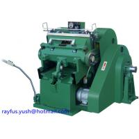 Quality Platen Die Cutting And Creasing Machine Large Pressure Four Safety Multi Usage for sale
