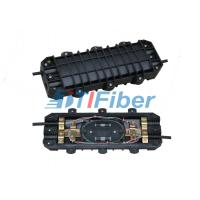 Quality 48 Core Aerial Fiber Optic Splice Closure for Duct / Direct Buried for sale