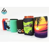 Quality Single Can Cooler Sleeve Neoprene Can Coolers For Reversible Beer Beverage for sale