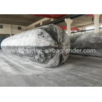Quality D1.8m x EL20m x 6 layers Caisson Lifting Inflatable Marine Rubber Airbags for sale