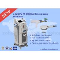 Buy 3 In 1 Multfunction SHR Hair Removal Machine for skin tightening , tattoo removal at wholesale prices