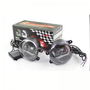 China China factory Auto Head Light 12V LED Fog Lamp 35W Angel Eyes Fog Lamp Universal LED Fog Light on sale