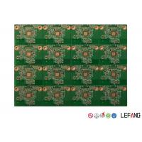 China High Performance Printed Circuit Boards ,  White Silk Print Hard Gold PCB on sale