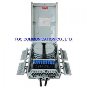 Quality SC APC 24ports 1×8 PLC Optical Fiber Termination Box FATB-0424A for sale