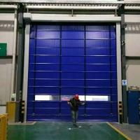 Quality PVC Rapid Roller Doors 900/800N Tearing Strength For Industrial Use for sale