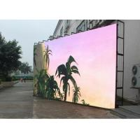 Quality Mobile Seamless Outdoor Led Display Board P4.81 Die Cast Aluminum Anti - Corrosion for sale