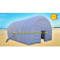 Buy 210D Rectangle Inflatable Bubble Tent / Door Marque For Wild Party Event at wholesale prices