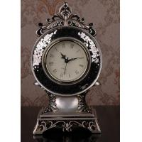 Quality best selling euro style resin table clock  desktop clock for sale