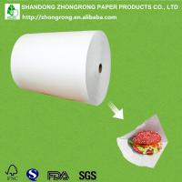 Quality recyclable greaseproof paper for sale