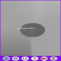 Quality Good quality 20 mm 40mesh smoke tobacco filter creen mesh made in China for sale