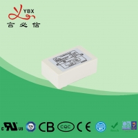 Quality Yanbixin 6.5A White Plastic Housing EMI Power Line Filter YB16P4 With Small PCB for sale