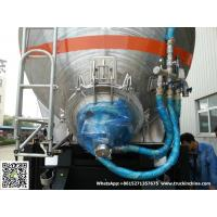 Quality Aluminum Alloy Wheat Flour Bulk Tanker with Tipping Hydraulic Cylinder (6000USG-10000USG )whApp:+8615271357675 for sale