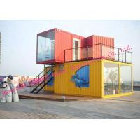 Quality Easy Installation Customized Modified Prefab Storage Container House For Temporary Accommodation for sale