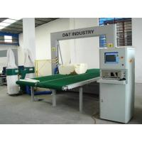 Quality CNC Contour Rock Wool Phenol Foams Cutting Machine With Computer Control System for sale