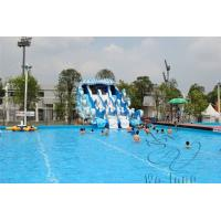 Quality 2015 HOT SALE CHEAP Kids games Used commercial Giant Inflatable Water Pool Slide for sale for sale