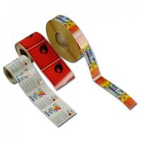 Quality blank roll adhesive label without printing for sale