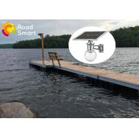 Quality 8w Garden Solar LED Wall Light Toughened Glass Cover 3-5M Height for sale