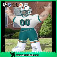 Quality Football Event Advertising Inflatable Sports man Cartoon for sale