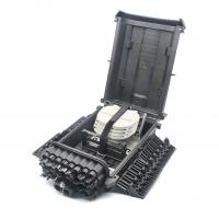 Buy Black Color Fiber Optic Termination FTTH Distribution Box Full Rugged Design at wholesale prices
