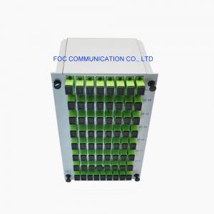 Quality PON FTTX 1×64 CATV Plc Splitter Module SC APC DWDM Fiber Optic Splitter Box for sale