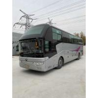 Quality 50 seats Used Yutong Diesel Coach Bus LHD 2015 Year five units in stock avaliable Zhengzhou for sale