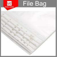 A4 punched file pocket 11holes clear plastic folder pp sheet protectors