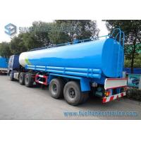 Quality Drinking Water Tanker Trailer 40000 L SUS304 2B Fuel Tanker Semi Trailer for sale