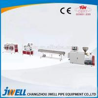 Buy cheap Jwell PVC PE PU Single Screw Extruder Plastic Making Machine from wholesalers