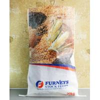 Transparent BOPP PP Woven Feed Bags , Laminated Woven Polypropylene Bags