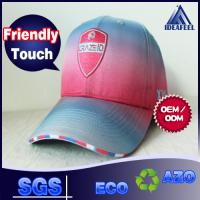 Polyester Sublimation Printing Women's Fashion Baseball Caps Woven Sandwich / Ring Closure