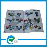 4 Color A4 Commercial Custom Catalog Printing, Looped String Binding