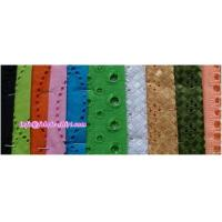 Quality Eyelet Embroidery Fabric for sale