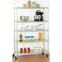 Quality Common  Canteen Home Wire Shelving / Cooking Utensils Storage Rack for sale