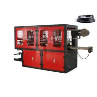Quality Takeaway Coffee Cup Thermoforming Plastic Lid Forming Machine 65mm - 165mm Stoke for sale