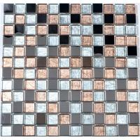 China Mixed color family bathroom glass border tiles kitchen wall tiles border on sale