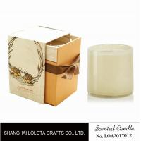 China Really Good Smelling Glass Jar Scented Candles , Home Fragrance Candles on sale