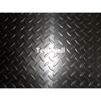 Quality 4mm Stainless Steel Checkered Plate Embossing Machine With Leveling Device for sale