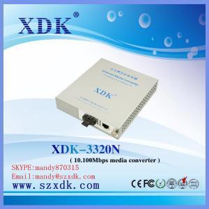 Quality 10/100M Fiber-optic Media Converter/RJ45 for sale