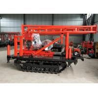 Professional Water Well Drilling Rig 380V 200m Depth With S1105 18HP Diesle Engine