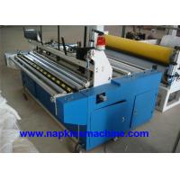 Laminated Small Toilet Paper Making Machine 1200mm With Plc Programming Control