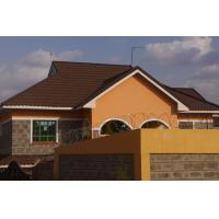 Buy cheap Mediteanuan Blend Style Colorful Stone-Chip-Coated Metal Roof Tile/ Roman tile from wholesalers