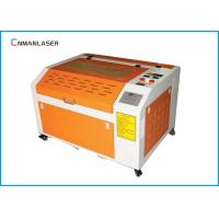 Buy cheap 6040 Mini Portable Wood Acrylic Rubber Stamp CO2 60W Laser Cutting And Engraving Equipment from wholesalers