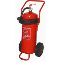 Quality ABC Powder Trolley Fire Extinguisher 50Kg Easy Installation For Underground Parking Lot for sale