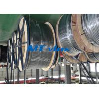 ASTM A269 / ASME SA269 Stainless Steel Coiled Tubing , coiled stainless tubing for sale
