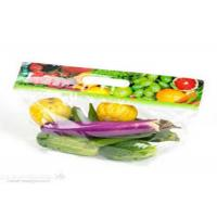 Quality Eco Friendly Clear Plastic Bags Fresh Fruit With Handle Zipper Gravure Printing for sale