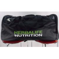 Quality Black Gym Sports Duffle Bags Personalised Sports Bags For Hiking for sale