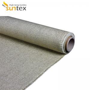 Quality 1100C High Temp Ceramics Heat Resistant Fabrics Low Thermal Conductivity for sale
