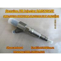 Quality Genuine & New Common Rail Injector 0445120157 for SAIC-IVECO HONGYAN 504255185, FIAT 50425 for sale