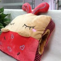 Buy Stuffed Cushion & Decoration for home cartoon rabit pillow/cushion in red &ligth at wholesale prices